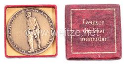 III. Reich - nichttragbare Erinnerungsmedaille -
