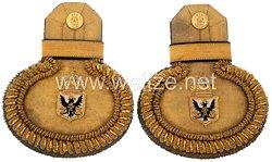 Preußen Post Paar Epauletten für einen Oberpostkommissar