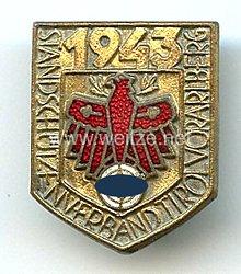 Standschützenverband Tirol-Vorarlberg -Gauleistungsabzeichen in Gold für Kombinationsschießen 1943