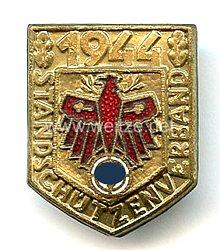 Standschützenverband Tirol-Vorarlberg -Gauleistungsabzeichen in Gold für Kombinationsschießen 1944