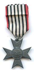 Preußen Kreuz für Kriegshilfsdienst, 1916