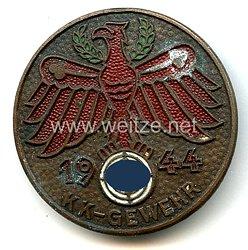 Standschützenverband Tirol-Vorarlberg -Gauleistungsabzeichen in Bronze 1944