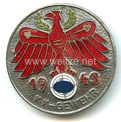 Standschützenverband Tirol-Vorarlberg -Gauleistungsabzeichen in Silber 1943
