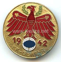 Standschützenverband Tirol-Vorarlberg -Gauleistungsabzeichen in Gold 1942