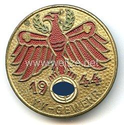 Standschützenverband Tirol-Vorarlberg -Gauleistungsabzeichen in Gold 1944