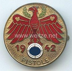 Standschützenverband Tirol-Vorarlberg -Gaumeisterabzeichen 1942 in Gold