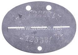 """Luftwaffe Erkennungsmarke """" 212338/32 """""""
