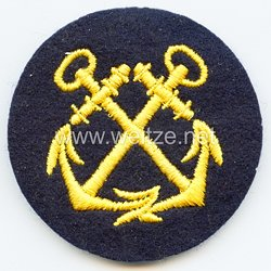 Kriegsmarine Ärmelabzeichen Steuermannslaufbahn