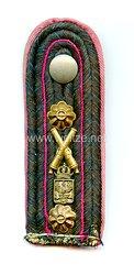 Preußen Einzel Schulterstück für einen Betriebsleiter/Ingenieur der Technischen Institute der Artillerie
