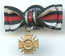 Ehrenkreuz für Frontkämpfer 1914-1918 - Miniatur