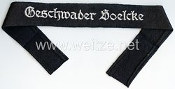 """Luftwaffe Ärmelband """"Geschwader Boelcke"""" für Mannschaften"""
