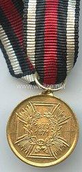 Preussen Kriegsdenkmünze 1870/1871 für Kämpfer - Miniatur