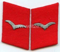 Luftwaffe Paar Kragenspiegel für einen Kannonier der Flak