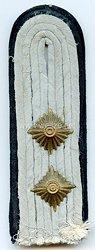 Waffen-SS Einzel Schulterstück für einen SS-Hauptsturmführer Pioniere