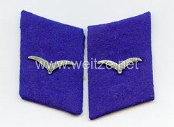 Luftwaffe 2 Einzelne Kragenspiegel für einen Sanitäter
