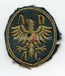 Deutsches Reich ADAC Allgemeiner Deutscher Automobil Club Mützenabzeichen
