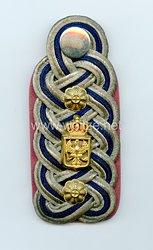 Preußen Einzel Schulterstück für einen Beamten der Militär-Intendantur im Range des Militärintendanten 2. Klasse