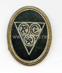 Mützenabzeichen Reichsvereinigung ehemaliger Kriegsgefangener ( REK )