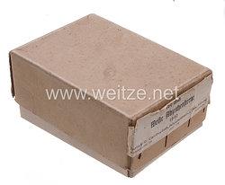 Wehrmacht Schachtel für weiße Abzeichensterne (Rangsterne) der Firma Carl Poellath