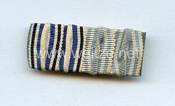 Bandspange eines bayerischen Veteranen des 1. Weltkriegs
