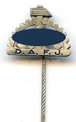 Deutsche Arbeitsfrontjugend ( DAFJ ) -Mitgliedsabzeichen 1. Form