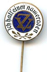 Zentralverband Deutscher Kriegsbeschädigter und Kriegerhinterbliebener ( ZV ) - Mitgliedsabzeichen 2. Form