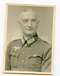 Wehrmacht Foto, Pionier Leutnant der Reserve und Veteran des 1. Weltkriegs mit EK I. Klasse 1914