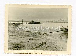 Wehrmacht Foto, Pionier Fähre