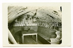 1. Weltkrieg Foto, Ratskeller einer Telegraphen - Einheit in