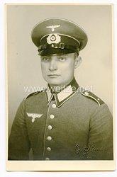 Wehrmacht Portraitfoto, Soldat im Infanterie Rgt.9