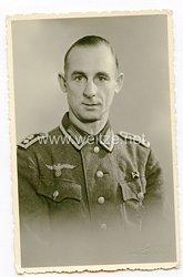 Wehrmacht Portraitfoto, Feldwebel eines Lehrregiments