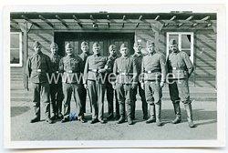 Luftwaffe Gruppenfoto, Soldaten einer Baukompanie der Luftwaffe