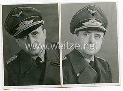 Luftwaffe 2 Portraitfotos eines Majors
