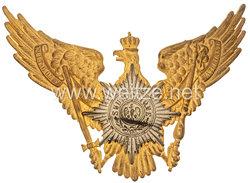 Preussen Tschapka Adler für einen Unteroffizier im 2. Garde-Ulanen-Regiment