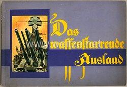 III. Reich - Das waffenstarrende Ausland -Zigaretten Sammelbilderalbum