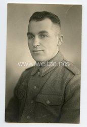 Wehrmacht Portraitfoto, Soldat des Heeres