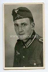 Wehrmacht Portraitfoto, Unteroffizier der Infanterie