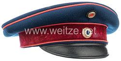Bayern Schirmmütze für einen Militärapotheker