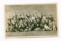 III. Reich Foto, Schulklasse nach dem Sportunterricht