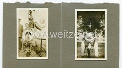 Wehrmacht Fotos, Soldaten mit Schellenbaum der Alten Armee