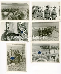 Wehrmacht Fotos Beisetzung eines gefallenen Kameraden mit Heeresgeistlichen