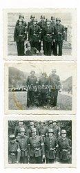 III.Reich Fotos, Angehörige der HJ Feuerwehrscharen / Feuerlöschpolizei