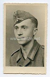 Wehrmacht Portraitfoto, Soldat der Infanterie