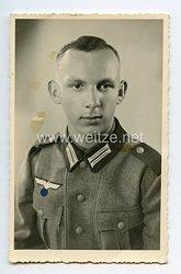 Wehrmacht Portraitfoto, Soldat