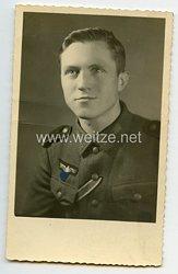 Wehrmacht Portraitfoto, Unteroffiziersanwärter