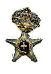 Königreich Italien Heer, Mützenabzeichen für die Schirmmütze eines Offizier in der Verwaltung
