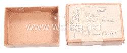Kleines Feldpost-Päckchen an einen Untersturmführer beim Rgr. Totenkopf
