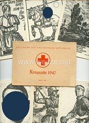 """III. Reich - Propaganda-Postkarten-Serie - """" Hilfswerk für das Deutsche Rote Kreuz - Kriegsjahr 1940"""""""