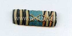 Bandspange eines preußischen Veteranen des 1. Weltkriegs