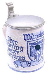 III. Reich - Erinnerungskrug an München 1938 und Obermenzing, Untermenzing, Allach, Ludwigsfeld, Solln